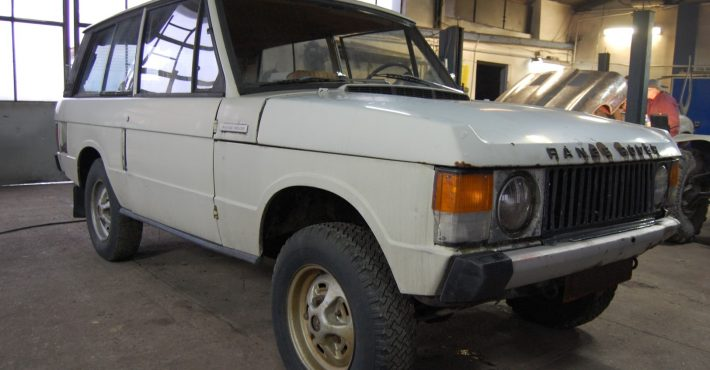 Renowacja samochodu Range Rover car911.eu